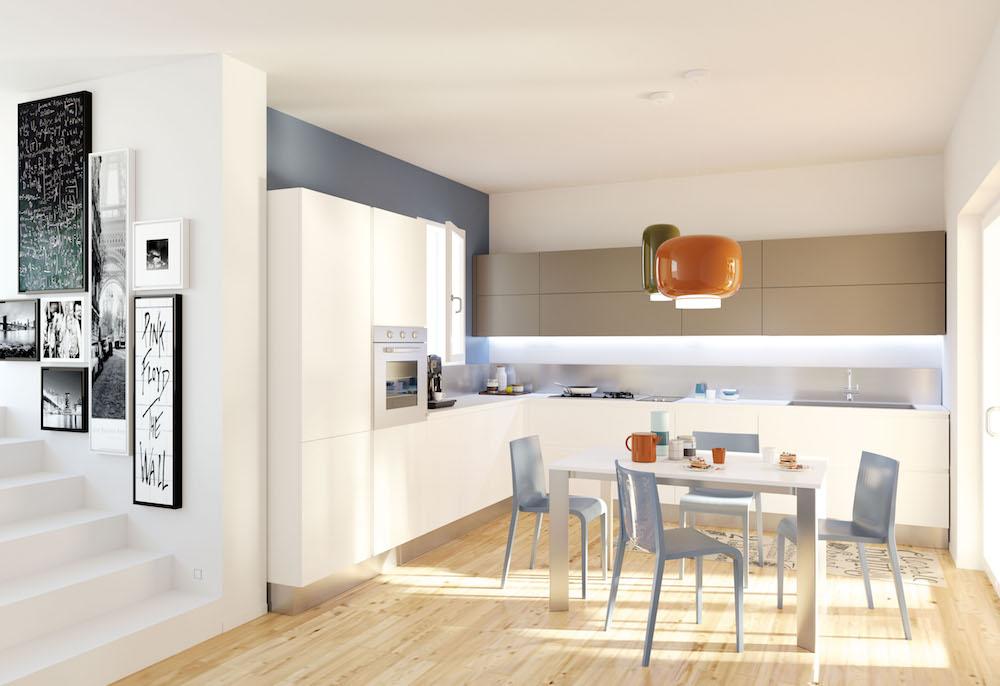 Cucine moderne lombardo arredi marsala trapani - Arredamento cucina piccola ...